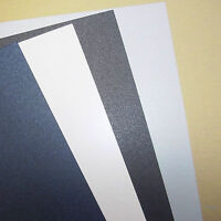 Pearl, Pearlescent, Pearlised PAPER, 125gsm, Choose Colour, Qty and Size