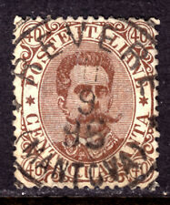 ITALY #53 40c BROWN, 1889, F, CDS