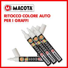PENNARELLO RITOCCO GRAFFI VERNICE AUTO MACOTA BIANCO GIOIOSO PERLATO 87020