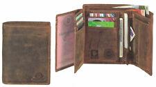 "Greenburry Vintage Kombibörse ""Save"" 10x12,5x3cm braun Leder *!bestprice!*"