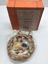 Friends Of The Feather Rare 1998 Hanging Ornament Angel With Animals 375497