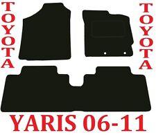 Toyota Yaris Tailored Car mats 5door & 3door hatch 2006 2007 2008 2009