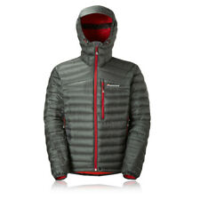 Montane Featherlite Down Mens Grey Water Resistant Outdoors Jacket Top