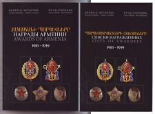 ARMENIA AWARDS Award 1918 & 1939 List Awardees, 2 Volumes Medals Badges Armenian
