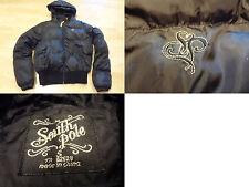 Women's South Pole S Puff Black Coat W/ Hood