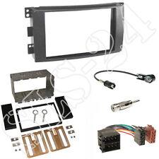 Smart ForTwo (BR451) Autoradio 2-DIN Einbaurahmen Blende+Adapterkabel Einbauset