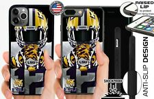 LSU TIGERS COLLEGE PHONE CASE FOR iPHONE 11 PRO XS MAX XR X 8 7 6S 6 6 PLUS 5C 5