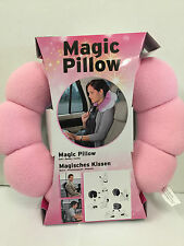 Comfort Total Pillow Travel Twist Neck Back Head Pillow Cushion Release Pressur