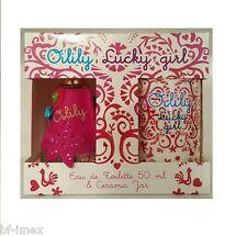 Oilily Lucky girl 50ml EDT EAU DE TOILETTE + Ceramic Tazza Set Nuovo/Scatola Originale