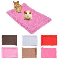 Hamster Guinea Rabbit Pig Bed Puppy Pet Small Animal Soft Plush Cushion Mat 1PC