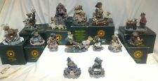 BOYDS BEARS & FRIENDS The Bearstone Collection circa 1979 Lot of 17 Near New