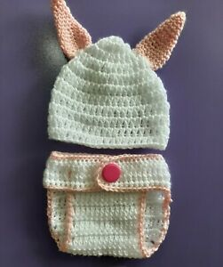 Nappy cover, Bunny Rabbit,baby Bottoms, photo props, baby shower gift,