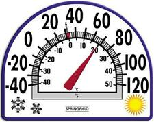 New listing Springfield Window Cling, Seasons Design, Thermometer 91157