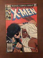 The Uncanny X-Men #170 (1983) 7.5 VF Marvel Bronze Age Comic Book Newsstand