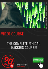 The Complete Ethical Hacking Course Professional video course training tutorial