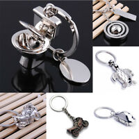 Love Gift Cute Toilet Pendant Key Chain Ring Keychain Keyfob Couple Keyring