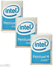 3 Pieces Intel Pentium M inside Computer Sticker Badge/Logo A26