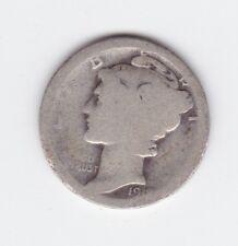 1918 MERCURY SILVER DIME United States America Coin S-523