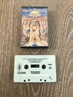 Iron Maiden Powerslave Cassette Tape Vintage Heavy Metal