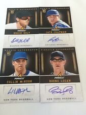 2013 Pinnacle Rookie Autograph 4 Card Lot Holt, McHugh, Chapman, Logan