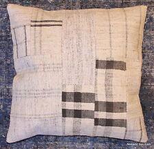 (50*50cm, 20inch) Genuine Turkish handwoven kilim cushion patchwork/whitecheck1
