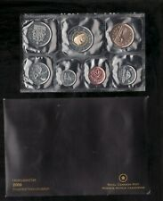2009 Uncirculated Coin Proof Like Set ~ Loon Bear Canadian Coin set