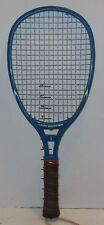 vintage Leach Lady Swinger Racquetball Racquet Blue