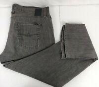 Mens Agave Denim Gringo No11 Jeans 40x30 Gray Classic Straight Stretch made USA