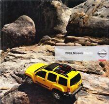 2007 07 Nissan Xterra Xtera  original sales brochure