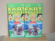 6 flatulentos dulces .2 paquetes de 3. nuevo en envases sellados por separado. entrega garantizado.
