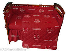 Texas A&M Aggies Ncaa Crib 5 Piece Bed in a Bag