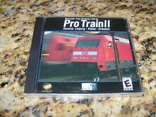 Pro Train II 2 Microsoft Simulator Add-On (PC, 2002) Pro-Train Saxony NEW