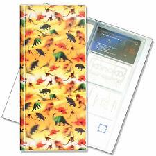Business Card Book File Dinosaur T-Rex 3D Lenticular Pattern #R-164-BF128#