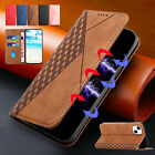 For iPhone 12 13 Pro Max 11 XS XR 876 SE Magnetic Leather Wallet Case Flip Cover