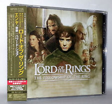 THE LORD OF THE RINGS THE FELLOWSHIP OF THE RING AUDIO CD USATO JAP VBCJ 52701