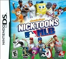 Nicktoons MLB ( Nintendo DS ) Lite Dsi xl 2ds 3ds xl major league baseball