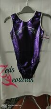 Girls Gymnastics Leotard size 32 BNWT by Zeds Leotards