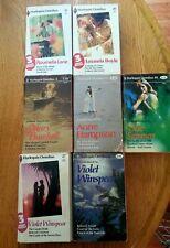 Lot 7 Harlequin Omnibus Romance Violet Winspear Burchell Summer Lane 1970s vtg