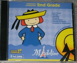 NEW Madeline 2nd Grade Classroom Companion - PC or MAC Game - Factory Sealed