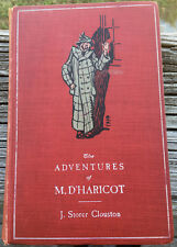 THE ADVENTURES OF M. D'HARICOT  1902 HARPER BROTHERS ILLUSTRATED HARDCOVER ED.