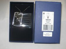 Swarovski Adventurous Pirates- Skulls And Swords Pendant  (NEW)