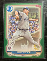 Adrian Morejon RC Green Parallel 2020 Topps Gypsy Queen #26 San Diego Padres