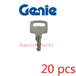 20pcs 455 Key Various Genie Vermeer Terex Snorkel Skyjack kubota Whisper Ronis