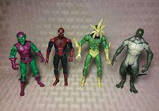 "Hasbro Marvel Universe 3.75"" Scale Lot Electro Lizard Spider-Man Green Goblin"