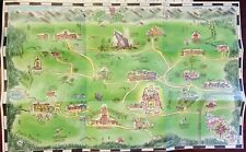 South Park Cartman Hand Drawn Town Map From Stick of Truth Collectors Edition