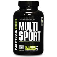 NUTRABIO MULTISPORT FOR MEN MULTI-NUTRIENT ATHLETIC SUPPORT - 120 CAPSULES