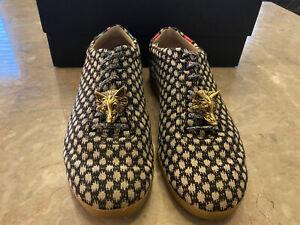 Gucci Mens Bambi Dot Woven Shoes