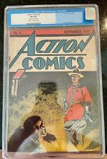 Action Comics #4 - 4th Appearance of Superman CGC 4.0 Unrestored Cream/Offwhite