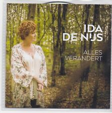 Ida De Nijs-Alles Verandert Promo cd single