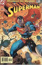 SUPERMAN #205 DC Comics 2004 Jim Lee art and cover Brian Azzarello 100 Bullets